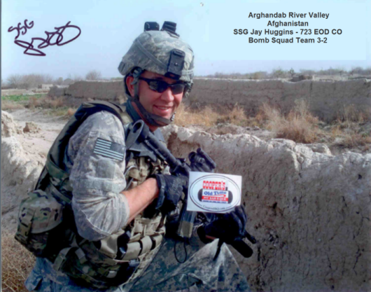 SSG Jay Huggins - Arghandab River Valley - Afghanistan - 723 EOD Co - Bom Squad Team 3-2