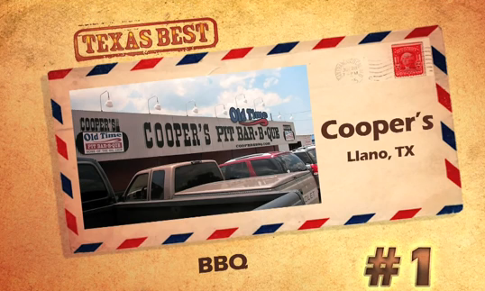 Texas Best - BBQ Coopers Old Time Pit Bar-B-Que